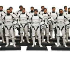 Be a stormtrooper with the application of three dimensional printing